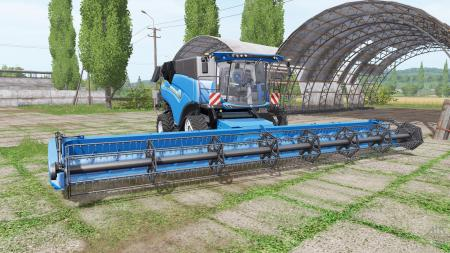 New Holland CR10.90 RowTrac blue