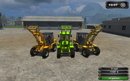 Small Loader Pack