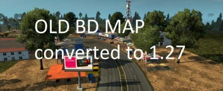 Old BD Map converted to 1.27