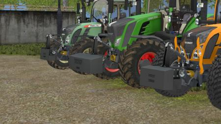 FENDT WEIGHTS PACK