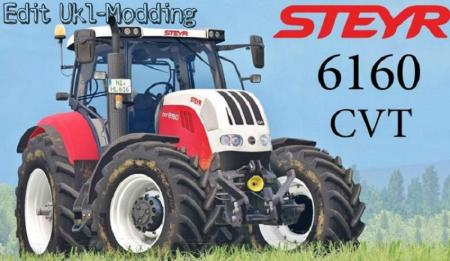 STEYR 6160 CVT V2.0 EDIT UKL-MODDING
