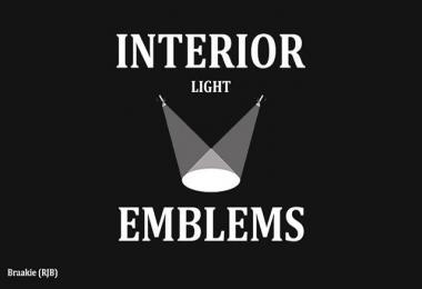 INTERIOR LIGHTS & EMBLEMS V3.4 1.28.X-1.30.X