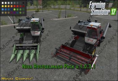 NIVA ROSTSELMASH PACK V1.0.3.1