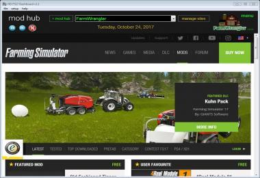 FS17 DASHBOARD V2.6