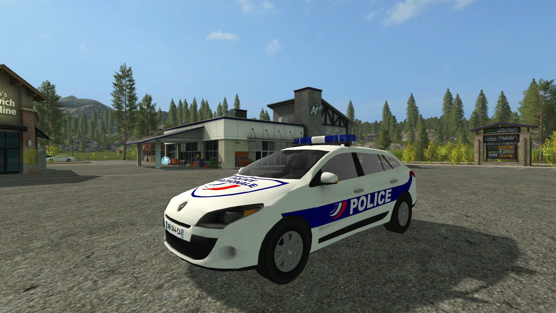 моды на фермер симулятор 2017 полиция