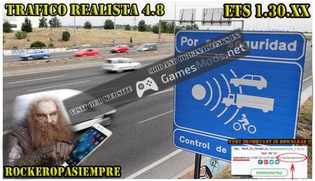 Realistic traffic 4.8