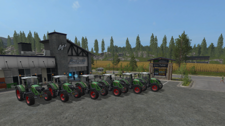 FS17 Fendt Vario Pack