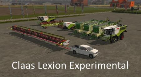 CLAAS LEXION EXPERIMENTAL V1.0