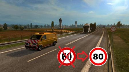 INCREASE IN THE SPEED OF SPECIAL TRANSPORT 1.31.X