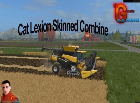 CAT LEXION SKINNED COMBINE V2.0