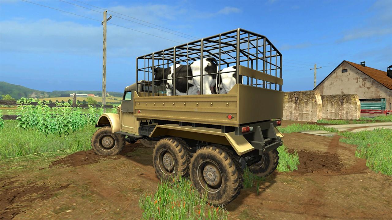 GAZ-69 Animals » GamesMods.net