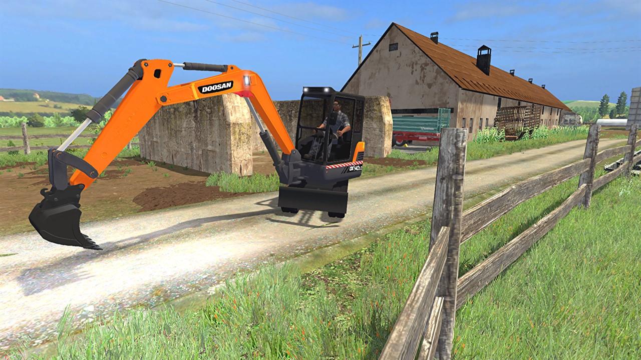 Doosan Mini Excavator V2 4 7 187 Gamesmods Net Fs19 Fs17