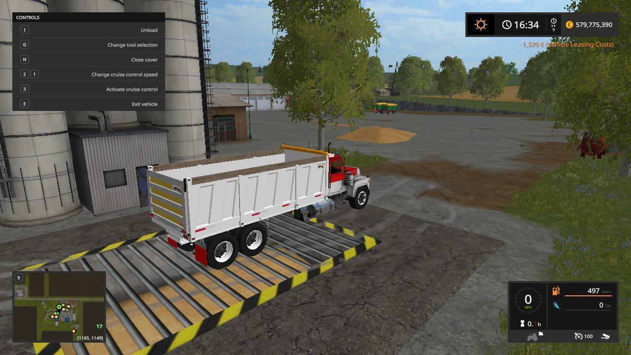CONTAINER » GamesMods.net - FS19, FS17, ETS 2 modsKenworth Dump Trucks Fs19