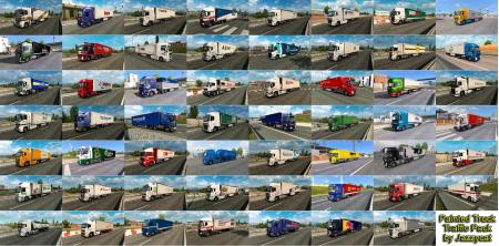 PAINTED TRUCK TRAFFIC PACK BY JAZZYCAT V5.7