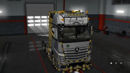 LIGHTBOX FOR MB ACTROS 2014 [UPD: 07.05.18] 1.30.X-1.31.X