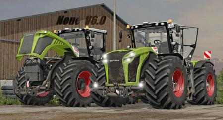 CLAAS XERION 5000 DH V6.1