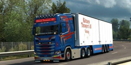 NEW GEN SCANIA V8 OPEN PIPE SOUND MOD V1.0