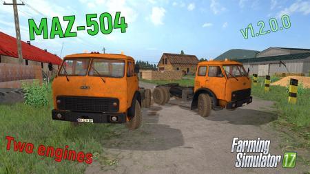 MAZ-504 v1.2.0