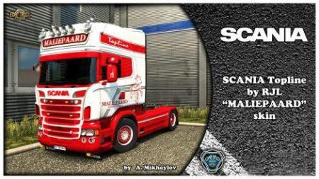 SCANIA MALIEPAARD KIT FOR RJL 1.30