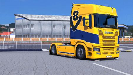 SCANIA S - SIMPLE V8 BY L1ZZY