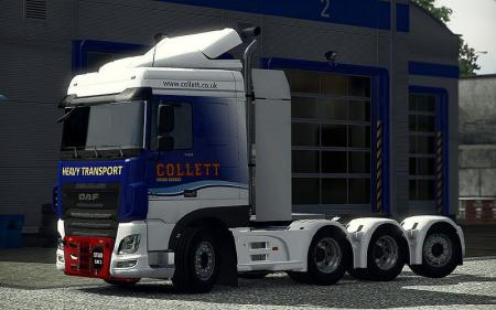 HEAVY HAULAGE CHASSIS ADDON FOR DAF E6 SCS 1.31