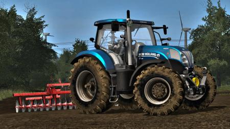 NEW HOLLAND T7 COLLEXX EDIT