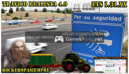 Realistic traffic 4.9 by Rockeropasiempre for V.1.31.XX