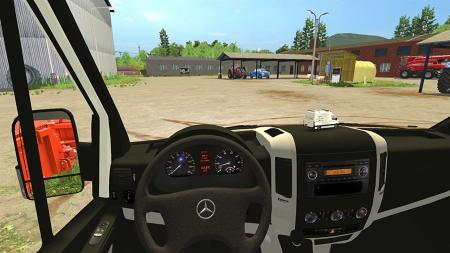 Mercedes-Benz Sprinter 311-318 CDI Workshop