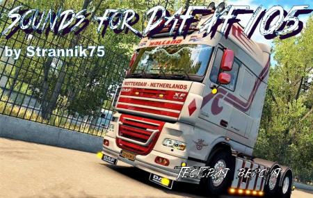 SOUND DAF XF 105 TEST VERSION