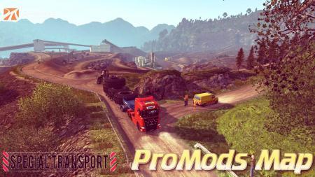 ProMods Map v2.27 + Special Transport DLC (1.31.x)
