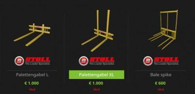 Stoll Frontlader Tools