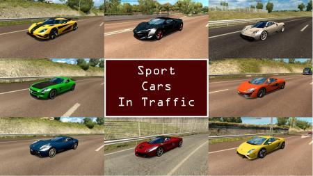 SPORT CARS TRAFFIC PACK BY TRAFFICMANIAC V1.0