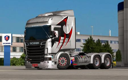 SCANIA RJL MODIFIED IN BRAZILIAN STYLE MEGA UPGRADE 1.31