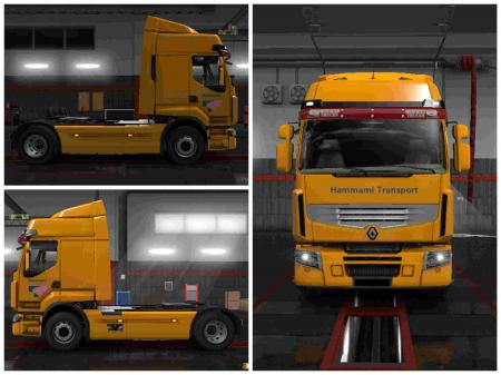 COMBOSKIN HAMMAMI TRANSPORT FOR ETS2 1.31