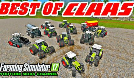 ALL CLAAS TOP TRACTOR PACK