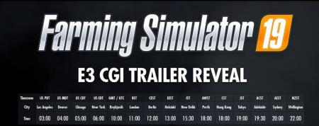 Farming Simulator 19 Full CGI E3 Live Trailer