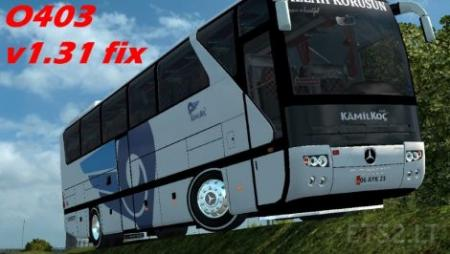 Mercedes Benz O403 Dealer Fix & Retarder Sound 1.31