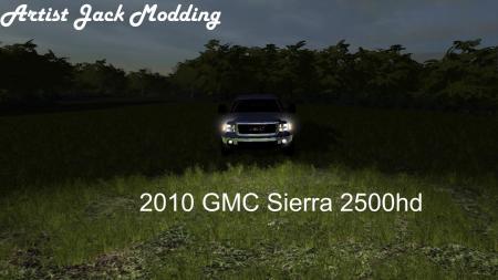 2010 GMC SIERRA 2500HD V1.10.0