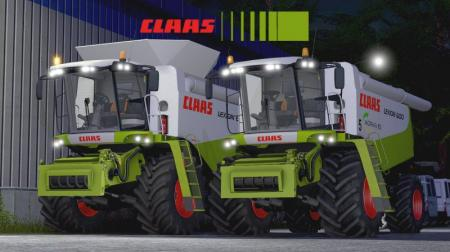 CLAAS LEXION 600 V2.0 BEAST FULL PACK