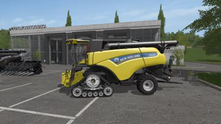NEW HOLLAND CR10 90 PACK & BALER UPDATE FIX V1.0