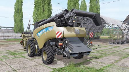 New Holland CR10.90 many extras