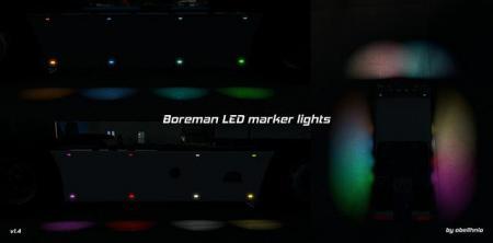BOREMAN LED MARKER LIGHTS V1.4 [11.07.2018]