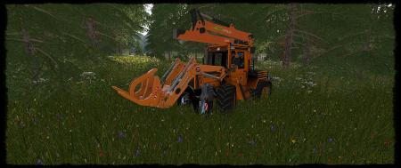 MB TRAC 1000 TURBO FORSTGREIFER V1.0.0