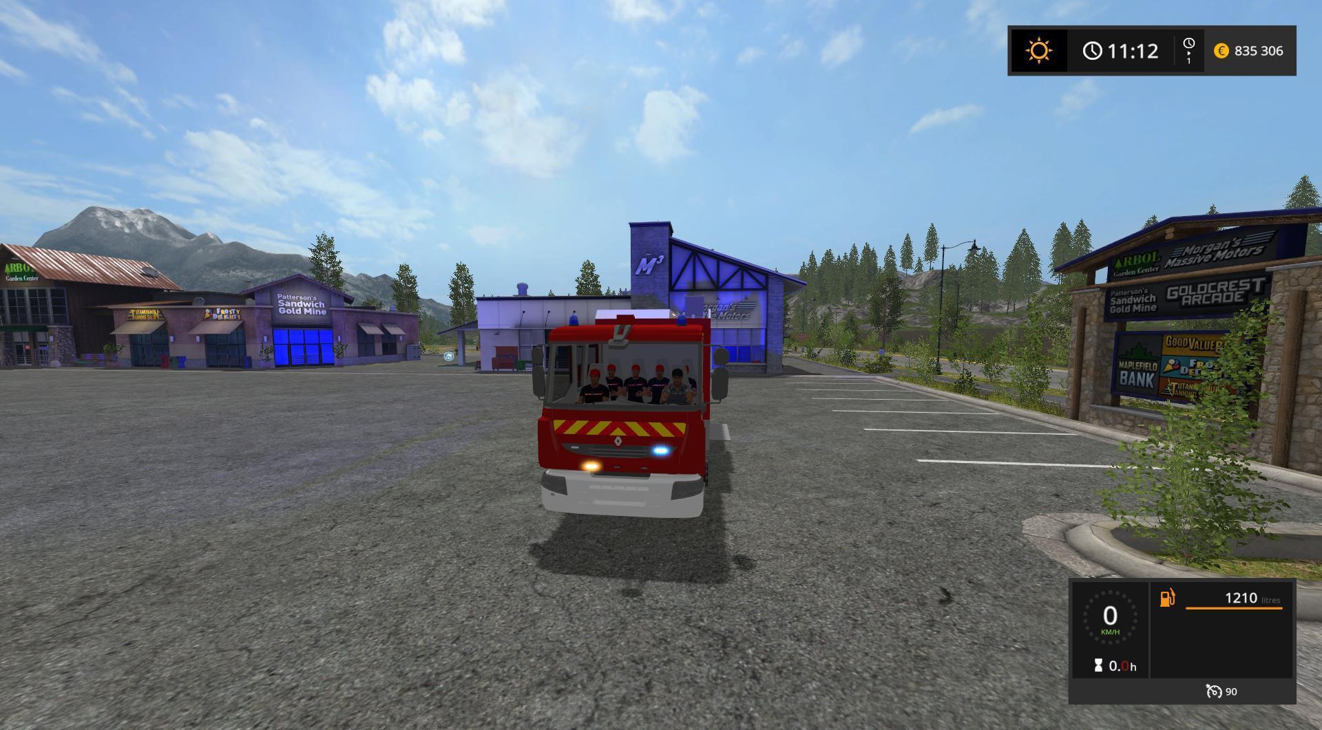 d0ef1b1260 FOURGON PREMIER SECOURS EVACUATION V1.0