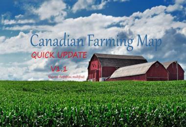 CANADIAN FARMING MAP UPDATE V1.1