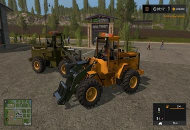 VOLVO L90C MILITARY GREEN AND YELLOW V1.0.0