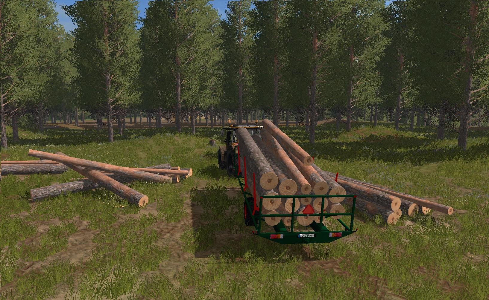 Homemade Wood Trailer  U00bb Gamesmods Net
