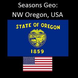 Seasons GEO: NW Oregon USA
