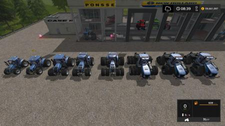 NEW HOLLAND TRACTOR PACK UPDATE BY STEVIE