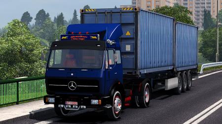 35 AU 8763 (Mercedes Benz 2521) Truck Mod 1.31 Dealer Fix